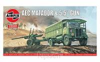 AEC Matador and 5.5 inch Gun [1: 76]