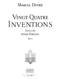 24 Inventions Op.50, Vol.1
