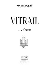 Vitrail pour orgue Op.65