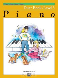 Alfred's Basic Piano Library Duet 3