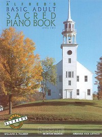 Alfred's Basic Adult Piano Course Sacred