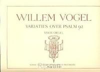 Variaties Psalm 92 - orgel