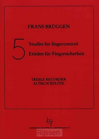 5 Studies for Fingercontrol - Alto Recor