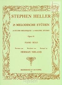 25 Melodische Etüden Op.45