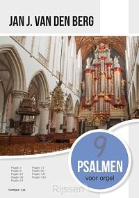 9 Psalmen voor orgel