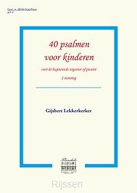 40 psalmen voor kinderen KLAVARSKRIBO