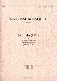 36 Etudes 1 für Altblockflöte solo