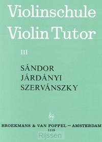 Violinschule (Violin Tutor) 3