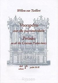 Voorspelen Psalmmelodieën 1B Ps.16-30