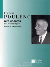 Airs Chantes Pour Soprano Et Piano
