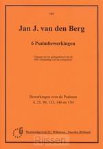 6 Psalmbewerkingen (Ps.4 25 96 133 146 1