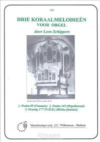 3 Koraalmelodien (Ps.89 143 Gezang 177)