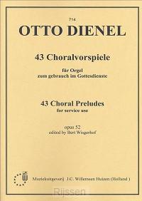 43 Choralvorspiele