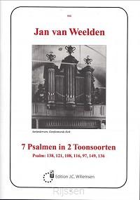 7 Psalmen In 2 Toonsoorten orgel