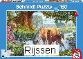 Puzzel Paarden bij de stroom (150 st)