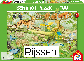 Puzzel Dieren in de jungle (100 st)