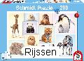 Puzzel Wilde babydieren (200 st)