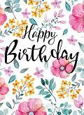 WK Happy Birthday