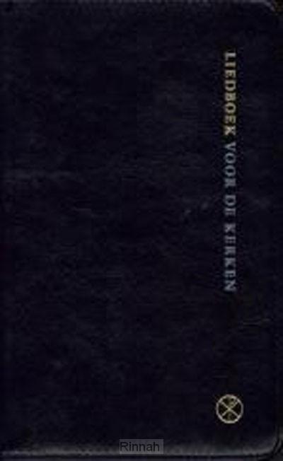 Liedboek groot zwart soepele band kleurs