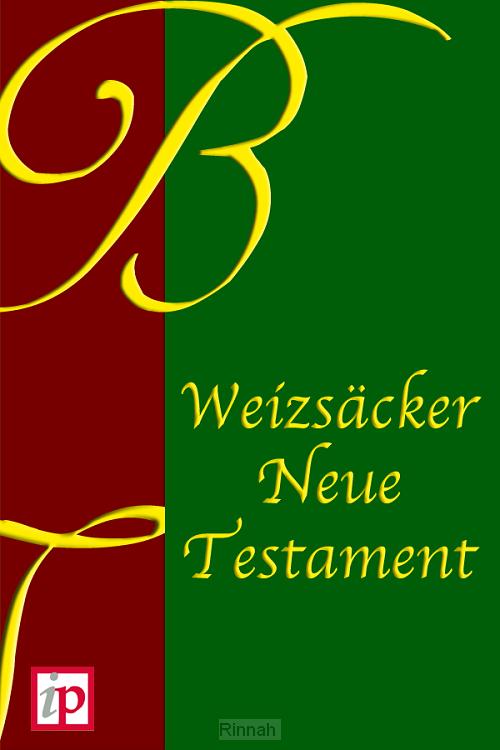 Weizsäcker Neue Testament
