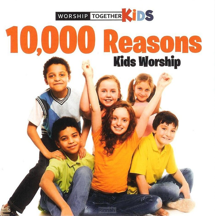 10,000 Reasons Kids Worship (CD)