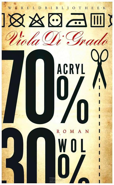 70% acryl, 30% wol