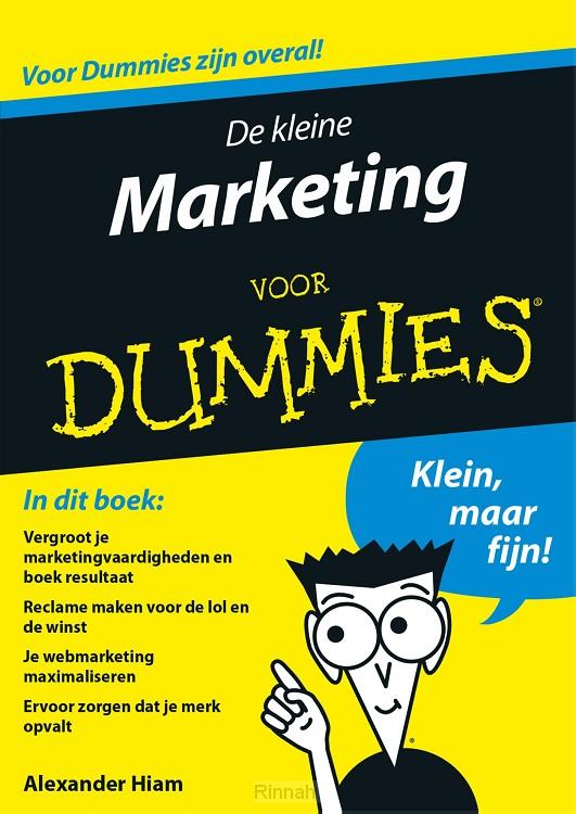 De kleine marketing voor Dummies