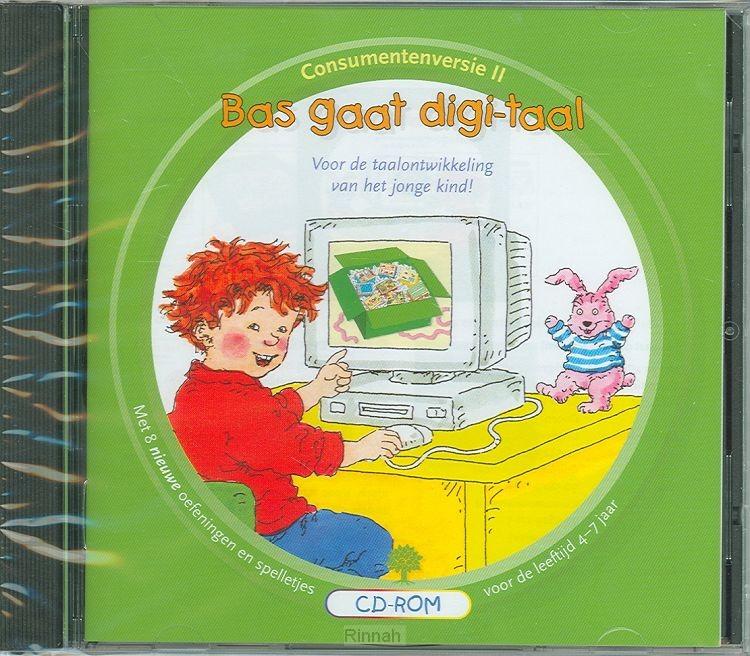 Bas gaat digitaal 2 (groen) cd-rom