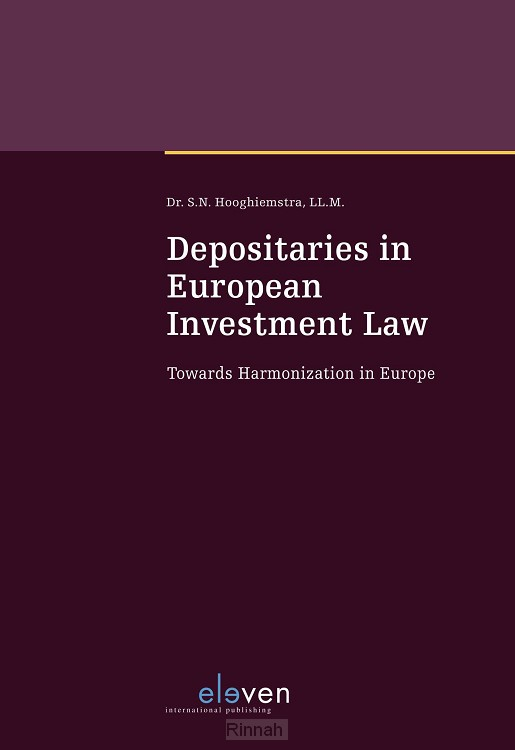 Depositaries in European Investment Law
