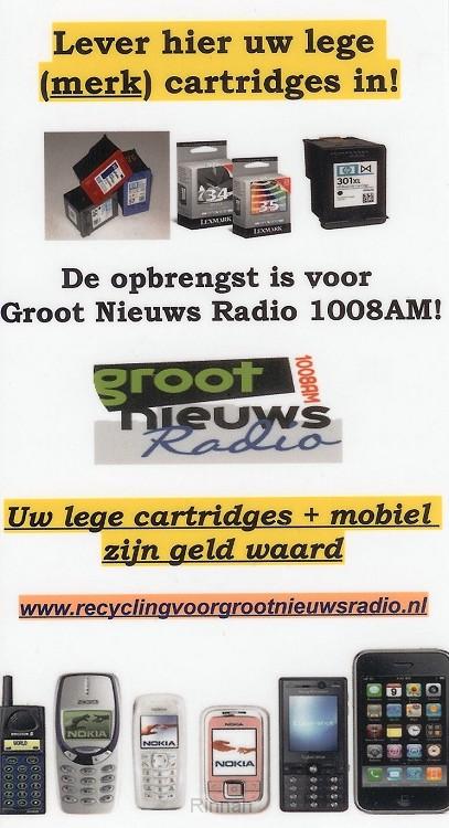 Aktie voor Groot Nieuws Radio