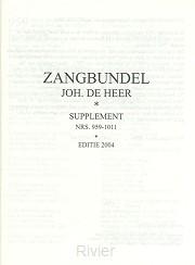 Zangbundel TEKSTAANVULLING