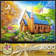 Puzzel Serenity Church (1000 stukjes)