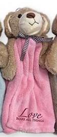 Cuddle cloth bear pink love bears all th