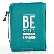 Be still - Poly Canvas - Biblecover Medi