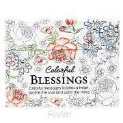 Colorful blessings - Boxed Coloring Card