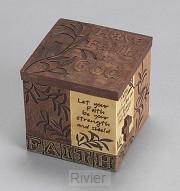 Box faith 9.5x9.5x9.25cm