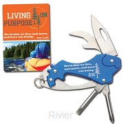 4-Tool pocket knife living on