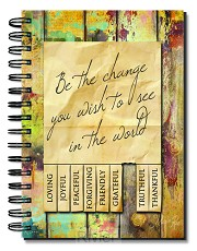 Be the change, Wirebound Journal 14,5 x