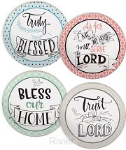 Coaster set faithful wisdom