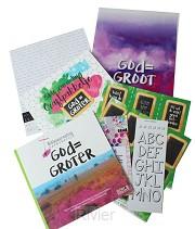 Biblejournaling God=Groter craftpakketje