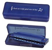 Mondharmonica blauw