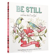 Be still - Coloring Book for adults