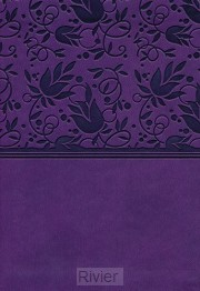 KJV lp compact ref.bible purple leatherf