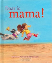 Daar is mama miniprentenboek
