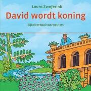 David wordt koning kartonboekje