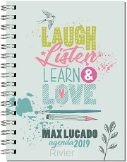 2019 Agenda Laugh listen learn love