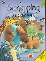 De schepping stickerboek