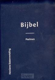 Bijbel met psalmen hsv luxe leer KLEIN