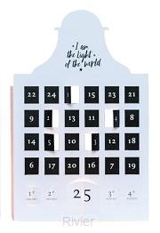 Adventskalender klein light of the world