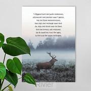 Poster a4  t Hijgend hert  psalm 42